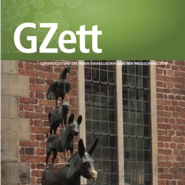 Die GZett Oktober / November 2019 ist erschienen