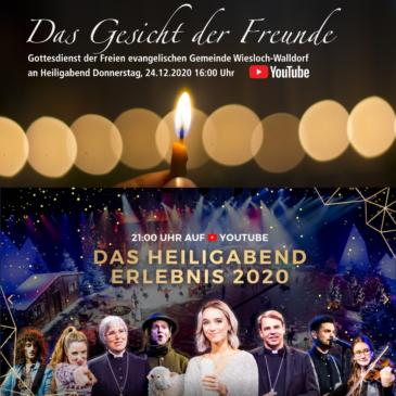 """Gottesdienst an Heiligabend – """"Das Gesicht der Freude"""" und """"Weihnachten neu erleben"""""""